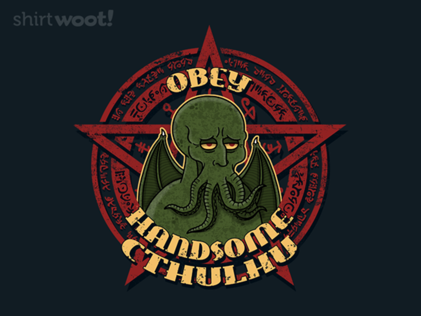 Woot!: Handsome Cthulhu