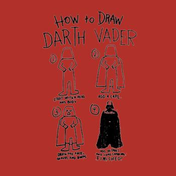 BustedTees: How To Draw Darth Vader