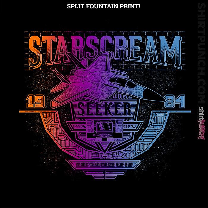ShirtPunch: Starscream 84