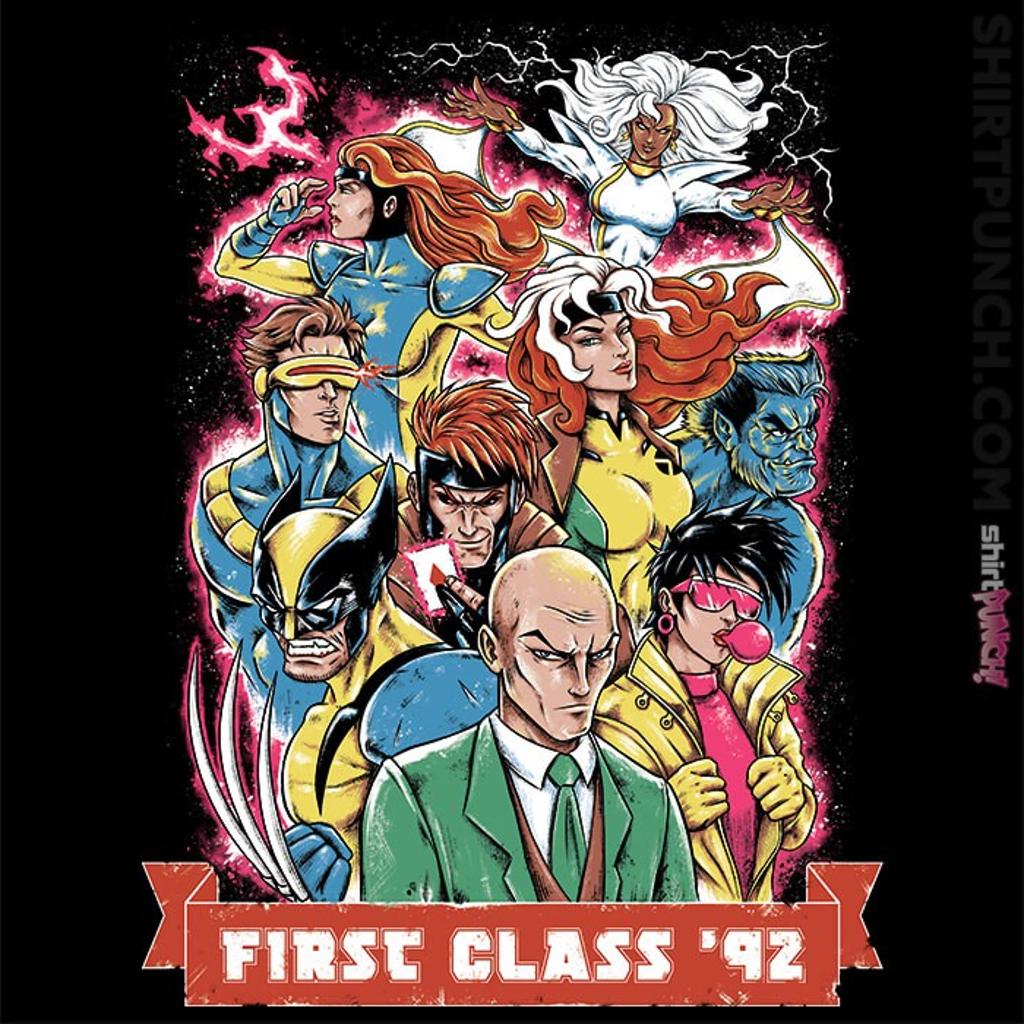 ShirtPunch: First Class 1992
