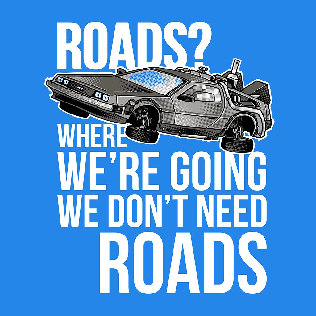 TeeTee: We don't need roads!