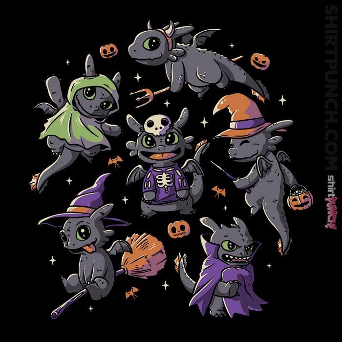 ShirtPunch: Halloween Dragons