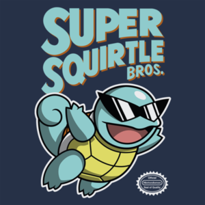 Pop-Up Tee: Super Squirtle Bros