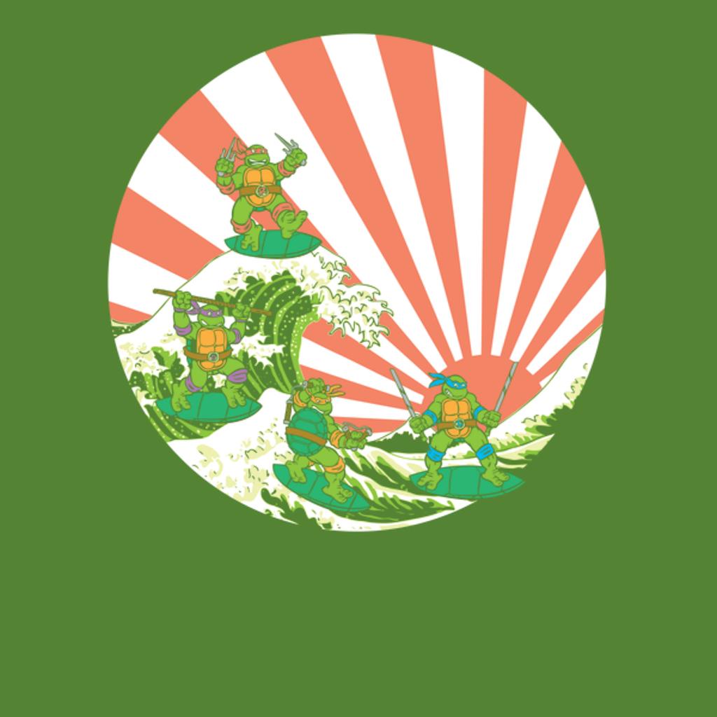 NeatoShop: The Great Wave Off Cowabunga