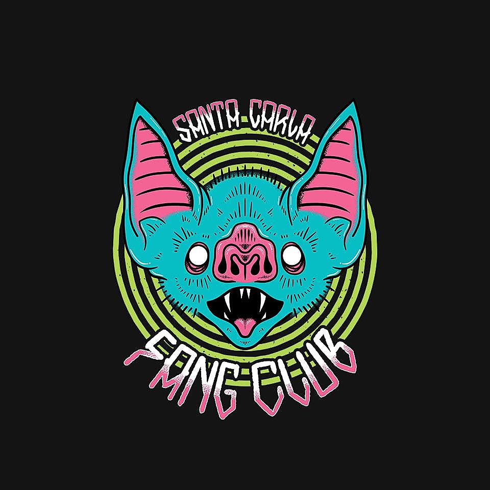 TeeFury: Santa Carla Fang Club