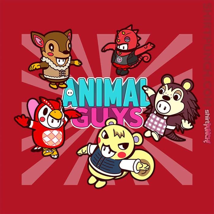 ShirtPunch: Animal Guys