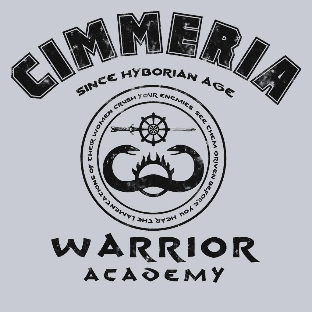 Pop-Up Tee: Warrior Academy - Black Ink