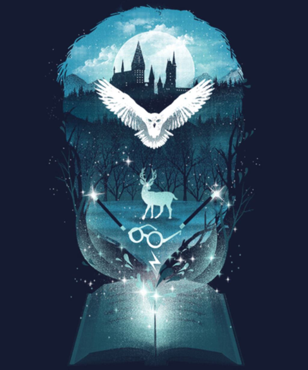 Qwertee: Book of Fantasy