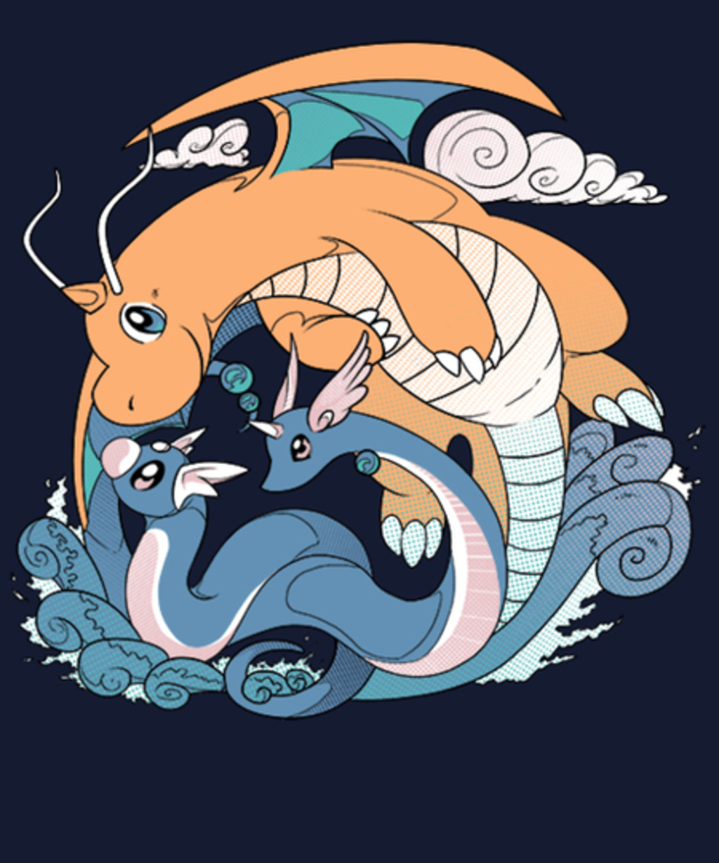 Qwertee: Dragon Evolution Circle