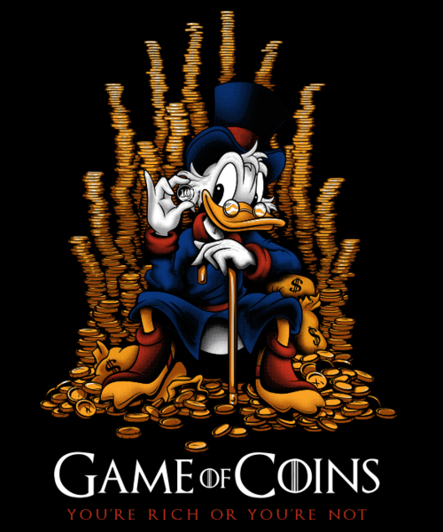 Qwertee: Game of Coins