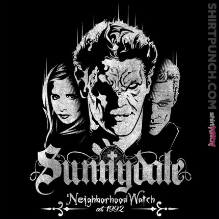 ShirtPunch: Sunnydale Watch