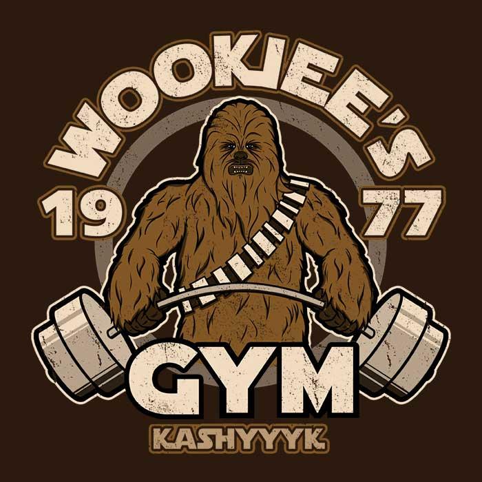 Once Upon a Tee: Kashyyk Gym