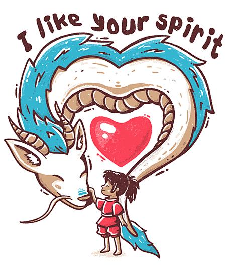 Qwertee: I Like Your Spirit