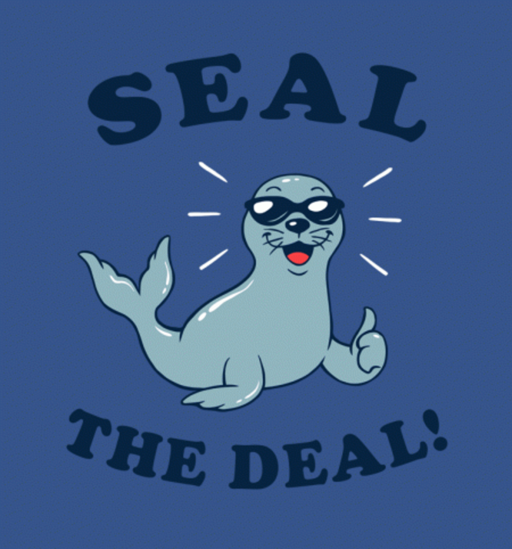 BustedTees: Seal the Deal