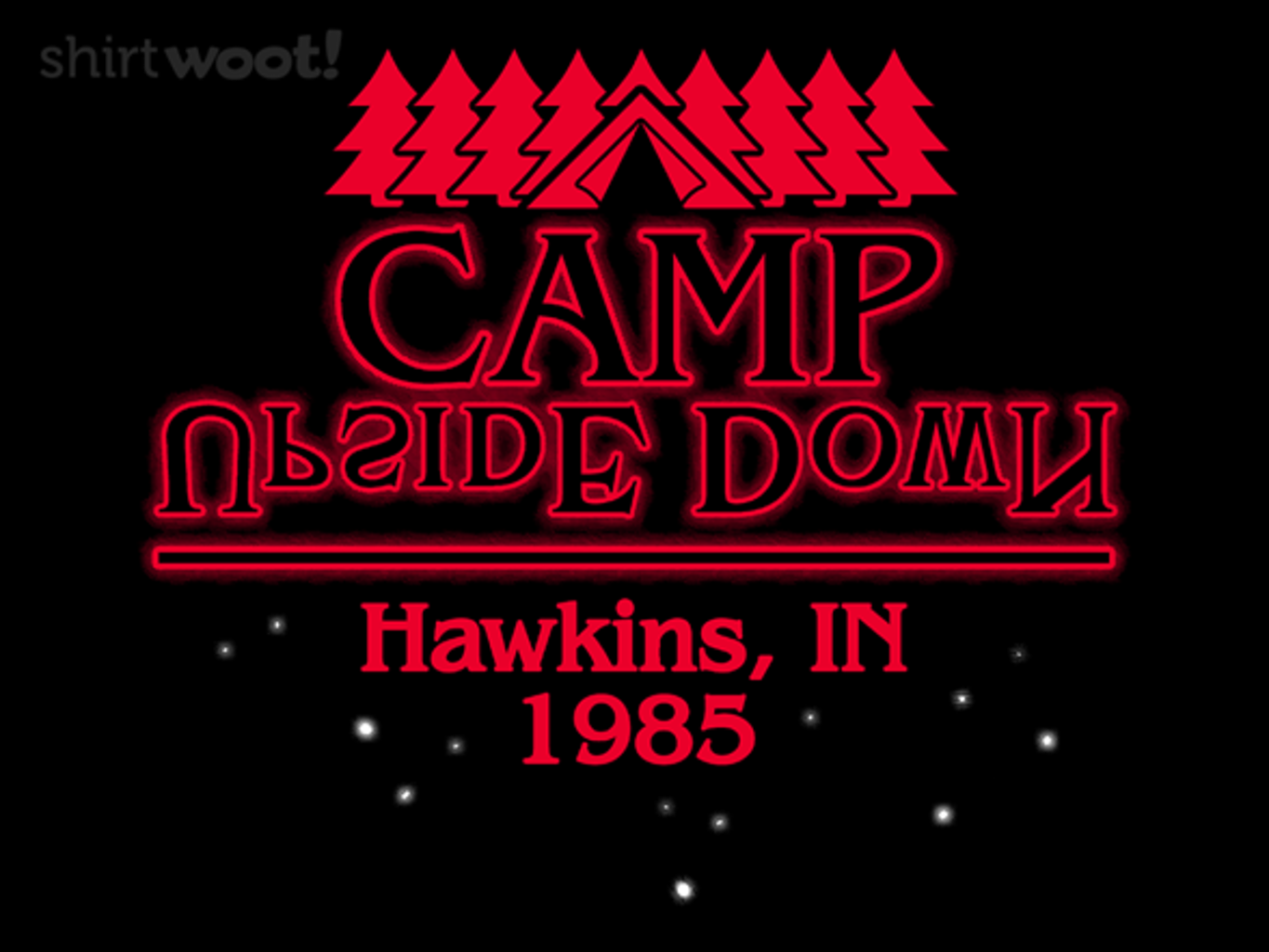 Woot!: Camp Upside Down