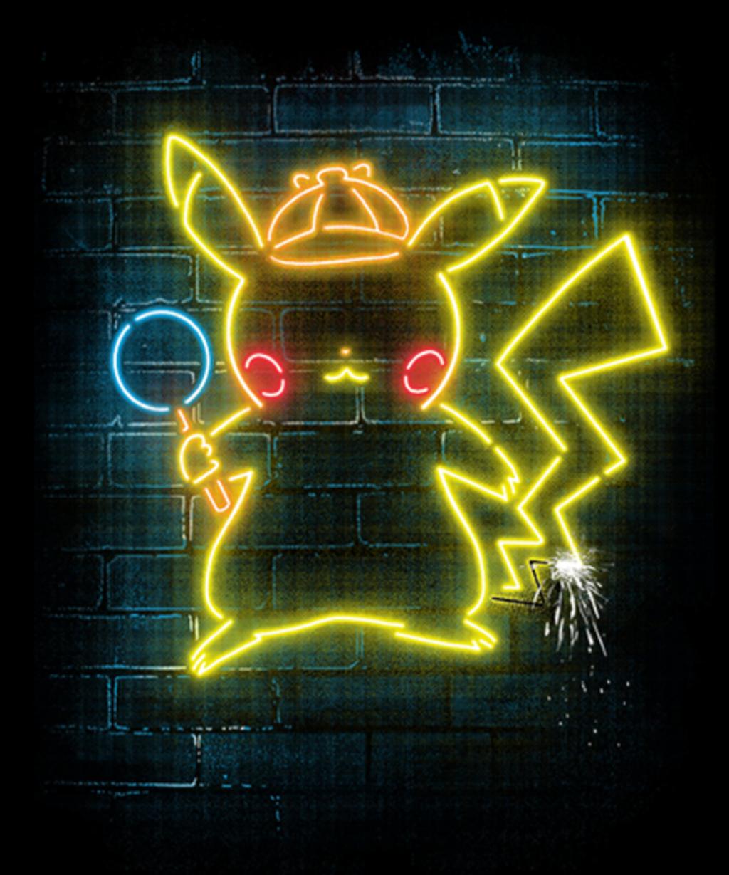 Qwertee: Neon Detective
