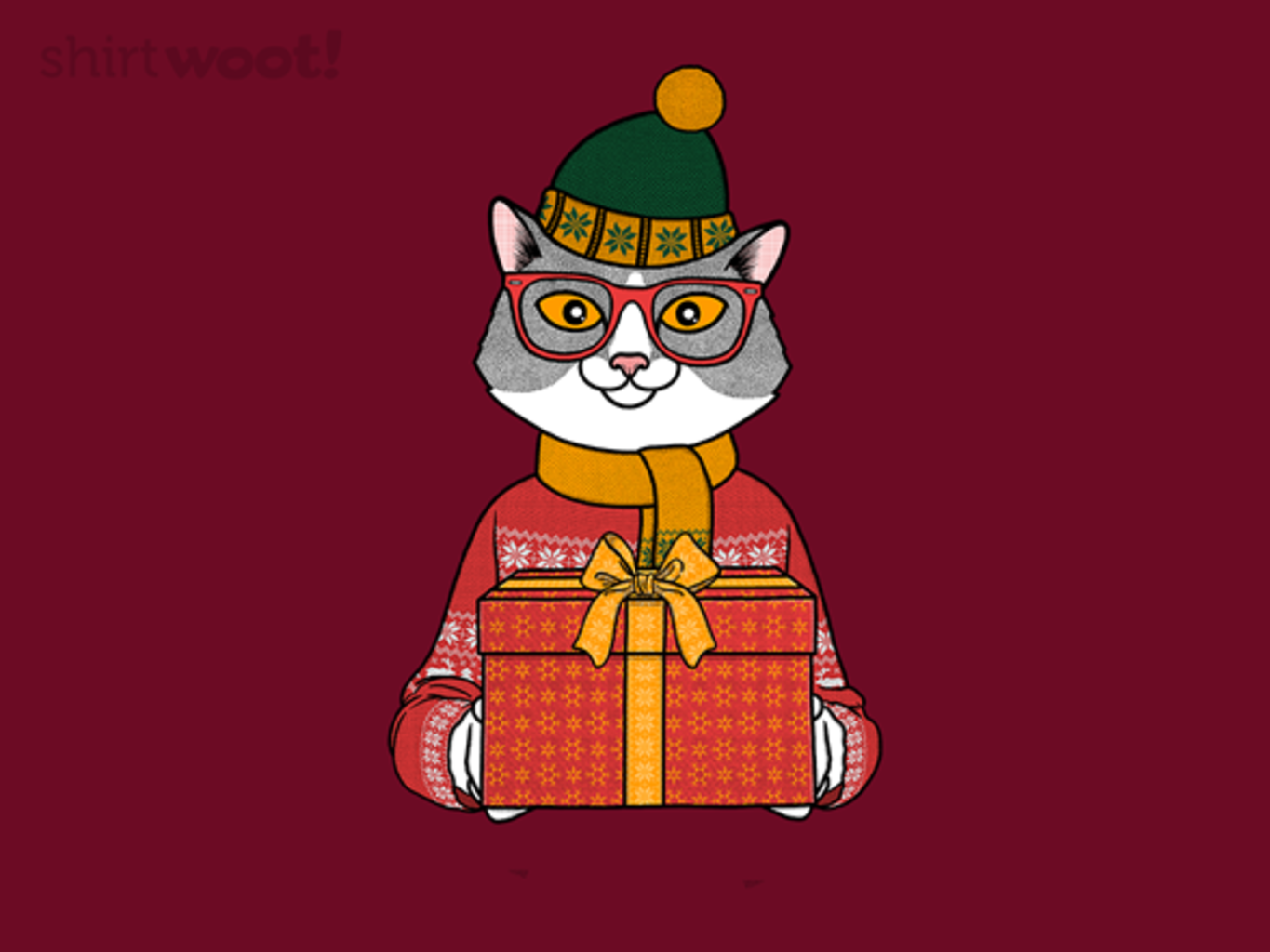 Woot!: Meowy Christmas - $8.00 + $5 standard shipping