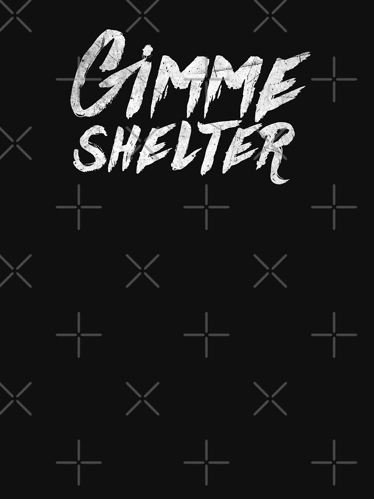 RedBubble: Gimme shelter!