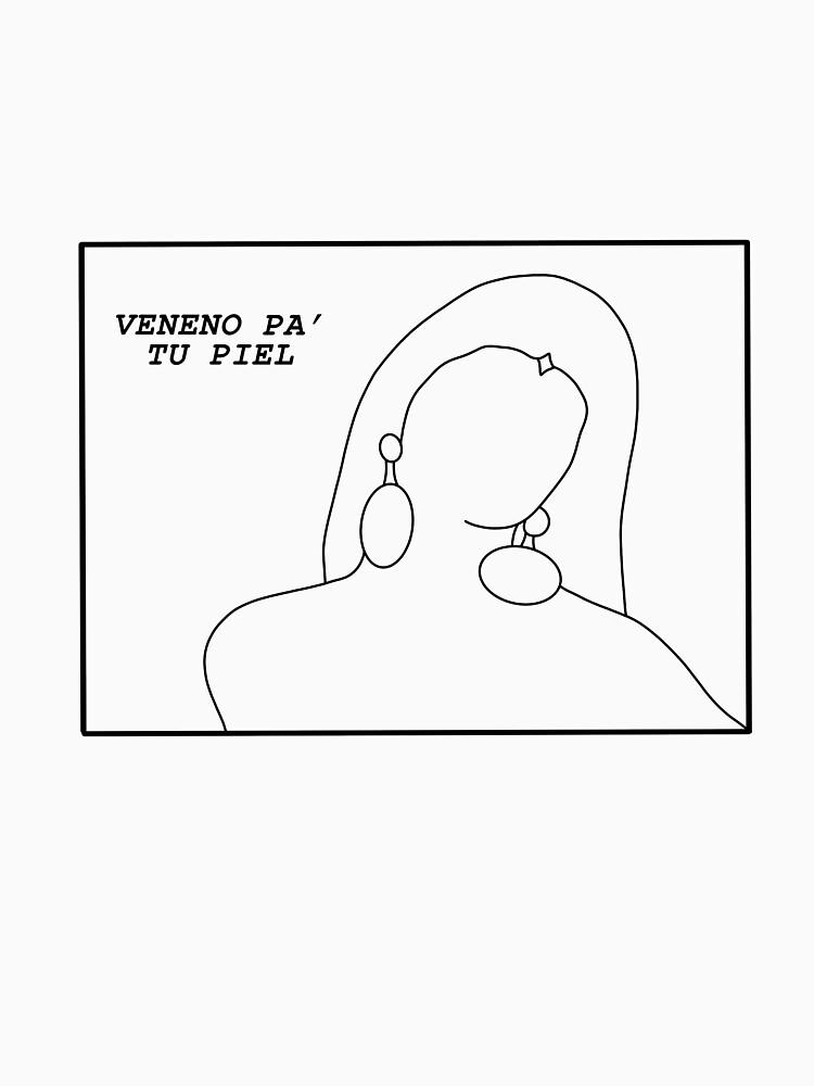 "RedBubble: ""veneno pa' tu piel"" apparel"