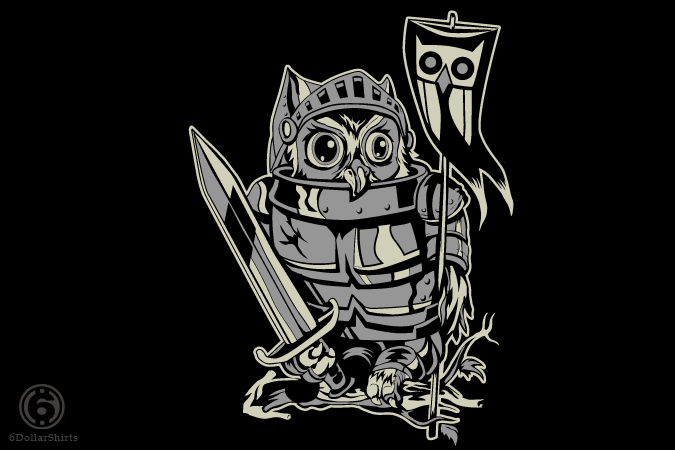 6 Dollar Shirts: Knight Owl