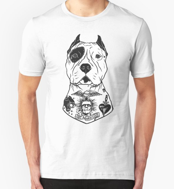 RedBubble: American Pitbull Tattooed