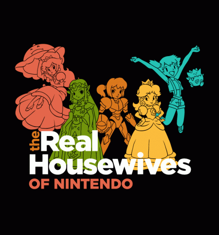 BustedTees: Real Housewives of Nintendo