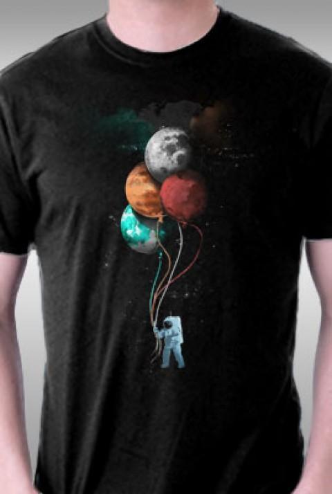 TeeFury: The Spaceman's Trip