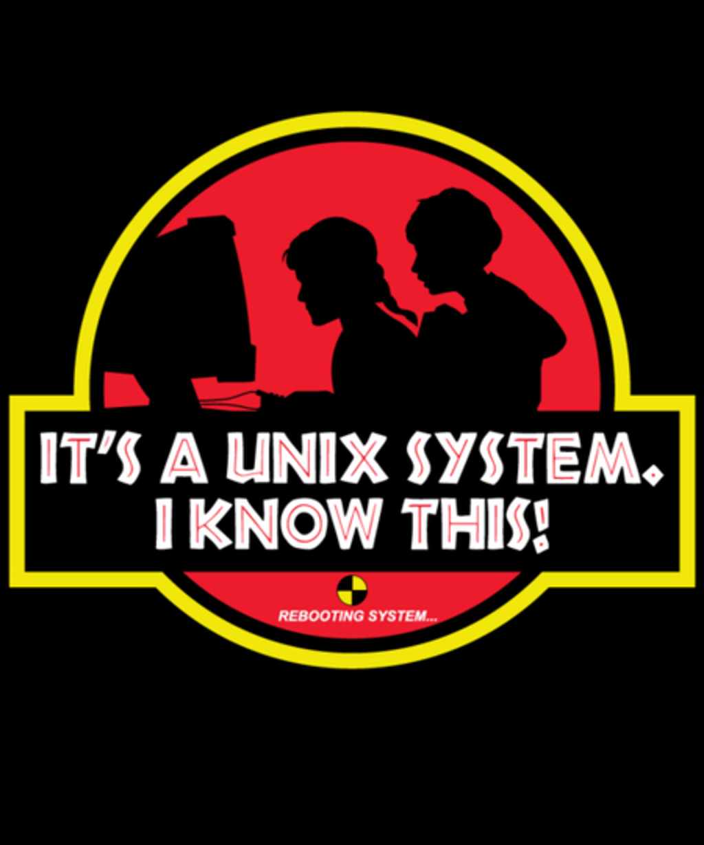 Qwertee: UNIX System Park