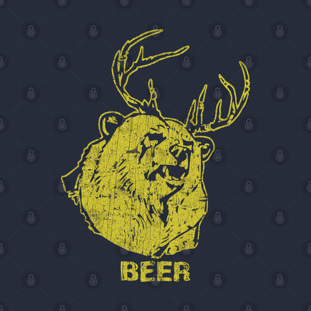 TeePublic: Bear + Deer = Beer