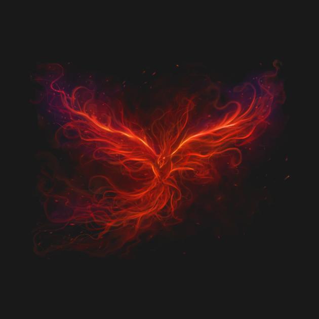 TeePublic: Immortal Flames