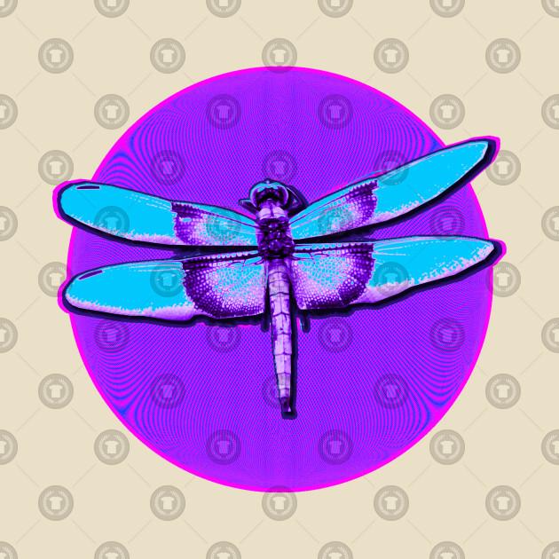TeePublic: Dragonfly Circle