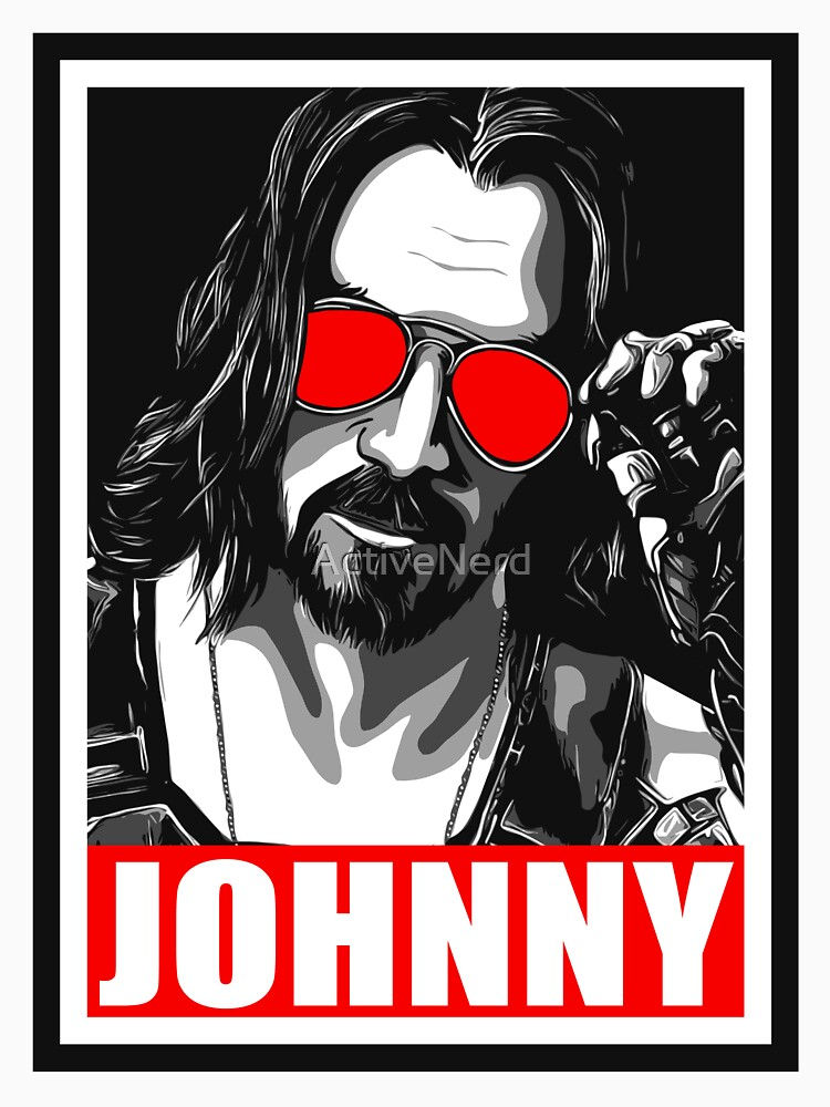 RedBubble: Rockerboy Johnny Silverhand