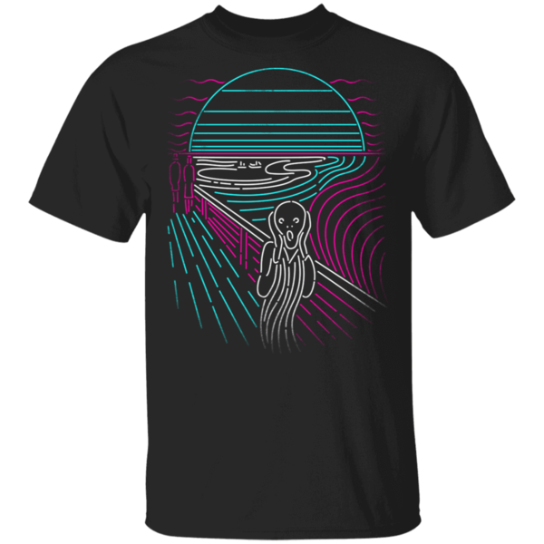 Pop-Up Tee: Screaming Neon