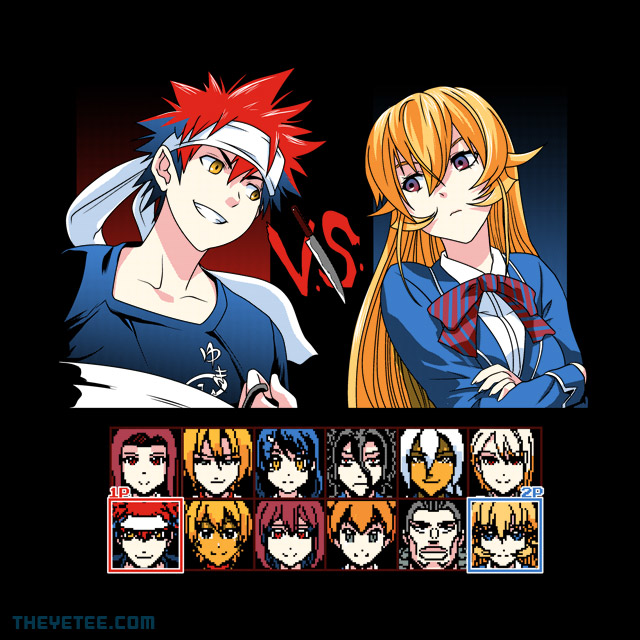 The Yetee: Food Fighters 2