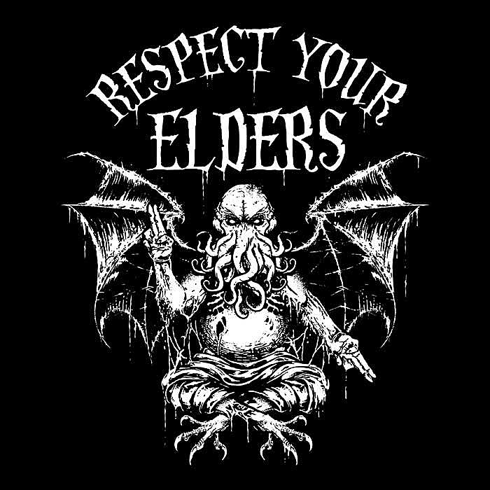 Once Upon a Tee: Respect Your Elders