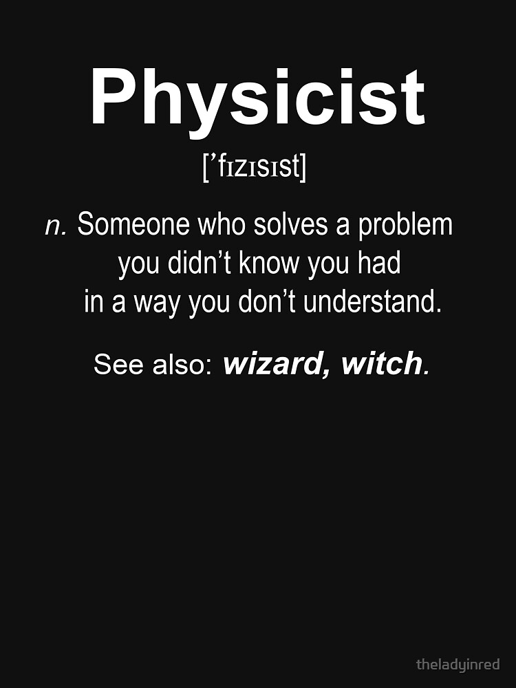 RedBubble: Physicist W