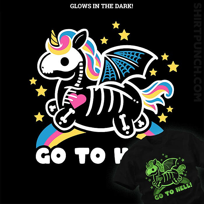 ShirtPunch: Skeleton Unicorn