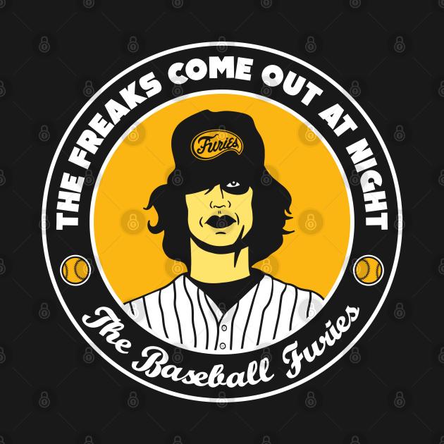 TeePublic: Baseball Furies - The Warriors