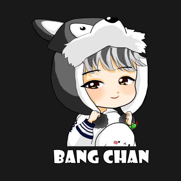 TeePublic: STRAY KIDS BANG CHAN CHIBI