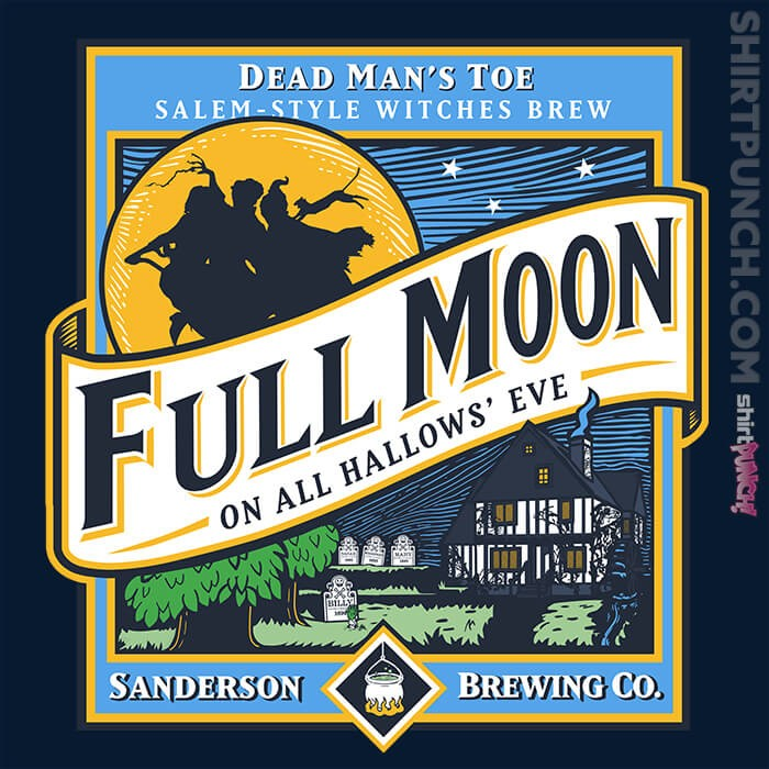 ShirtPunch: Sanderson Full Moon