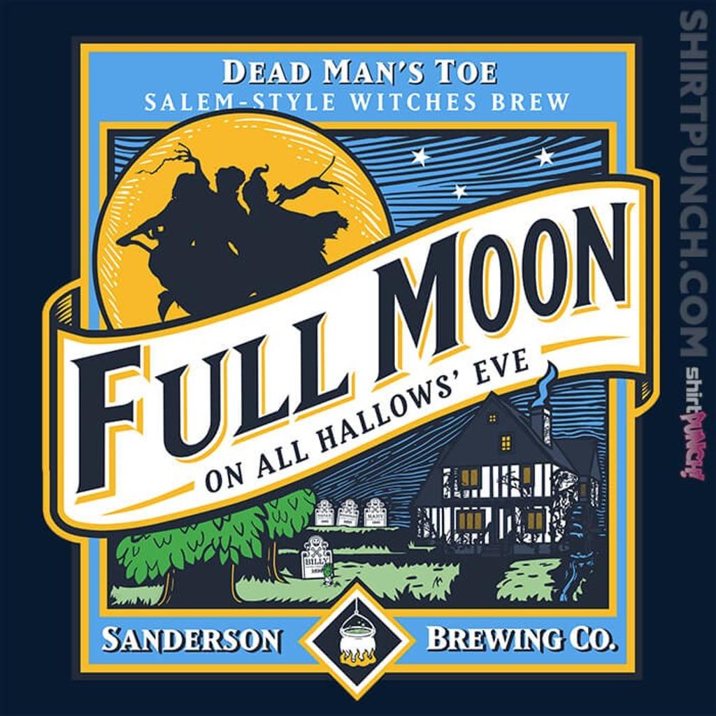 ShirtPunch: Sanderson Full Moon