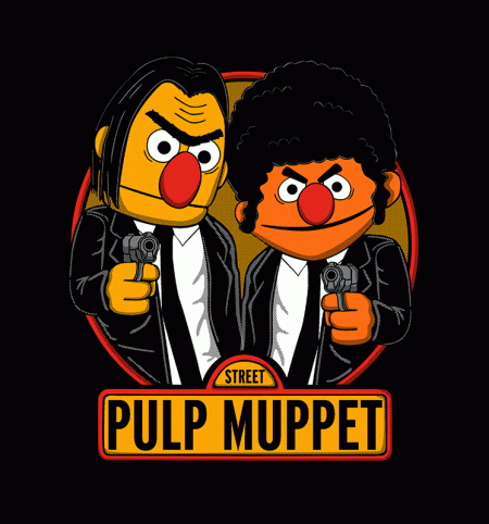 BustedTees: Pulp Muppet