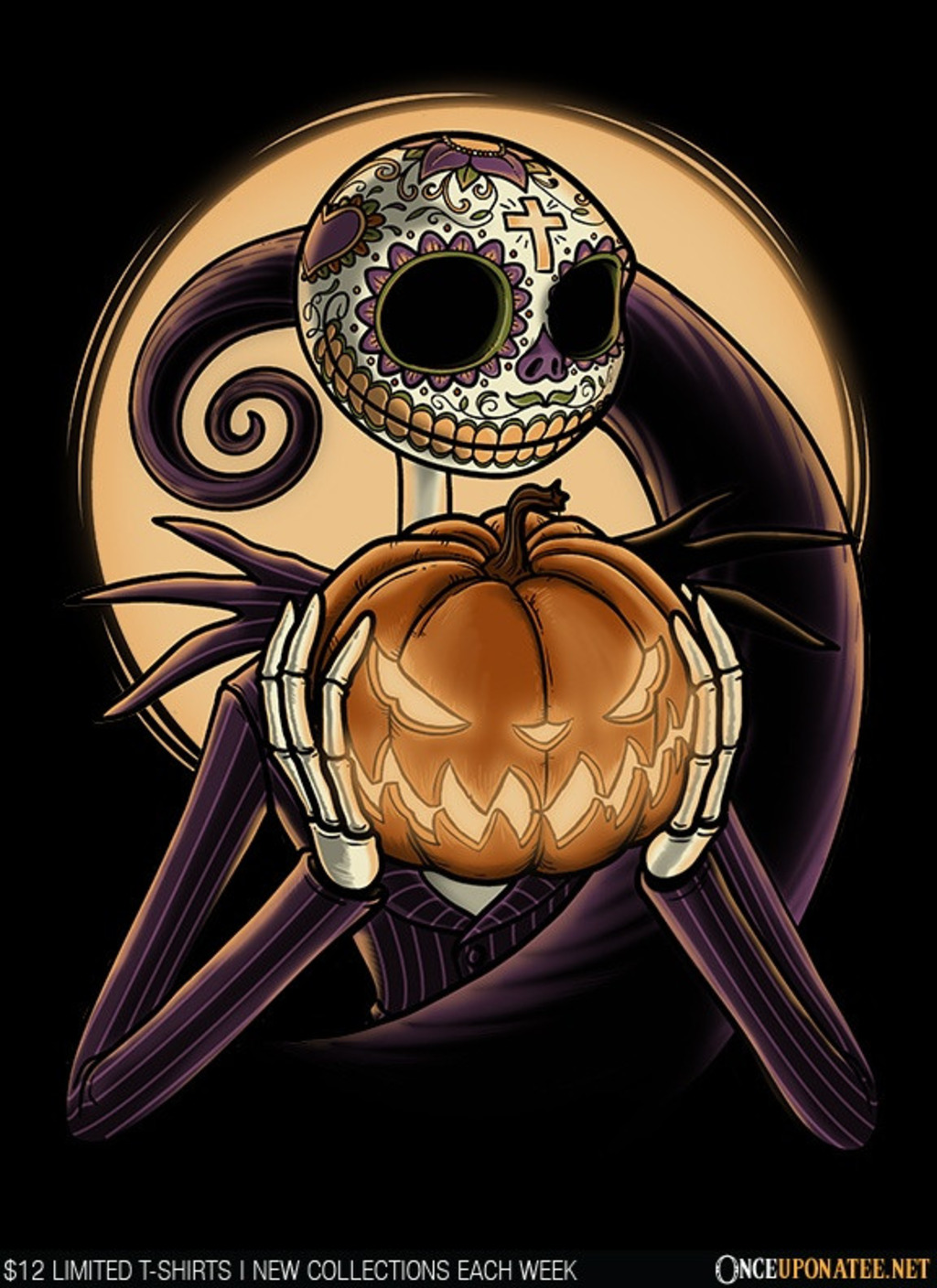 Once Upon a Tee: Sugar Skellington