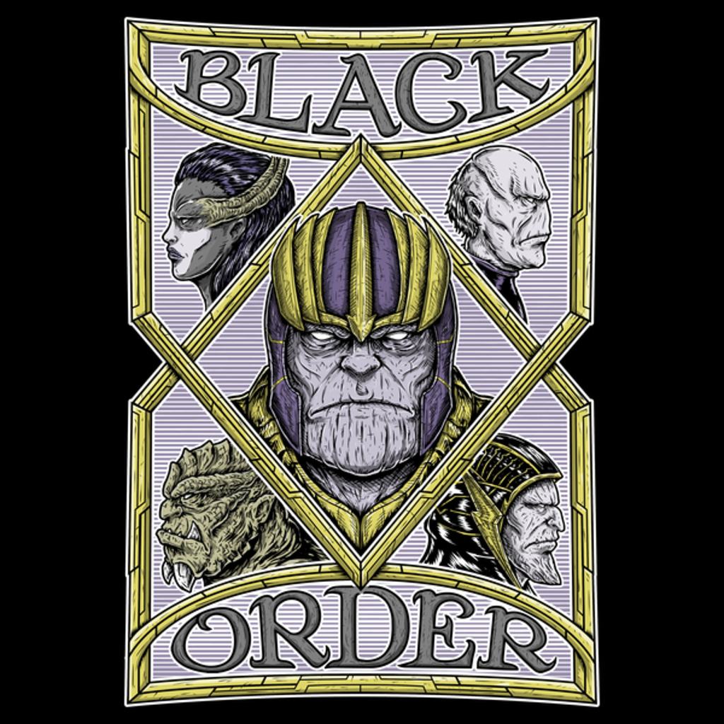NeatoShop: BLACK ORDER COLORS