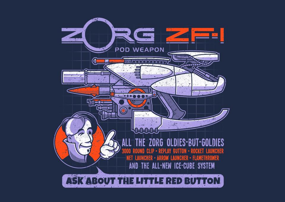 TeeFury: Ask About the Little Red Button