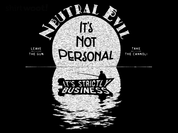 Woot!: Neutral Evil - $8.00 + $5 standard shipping
