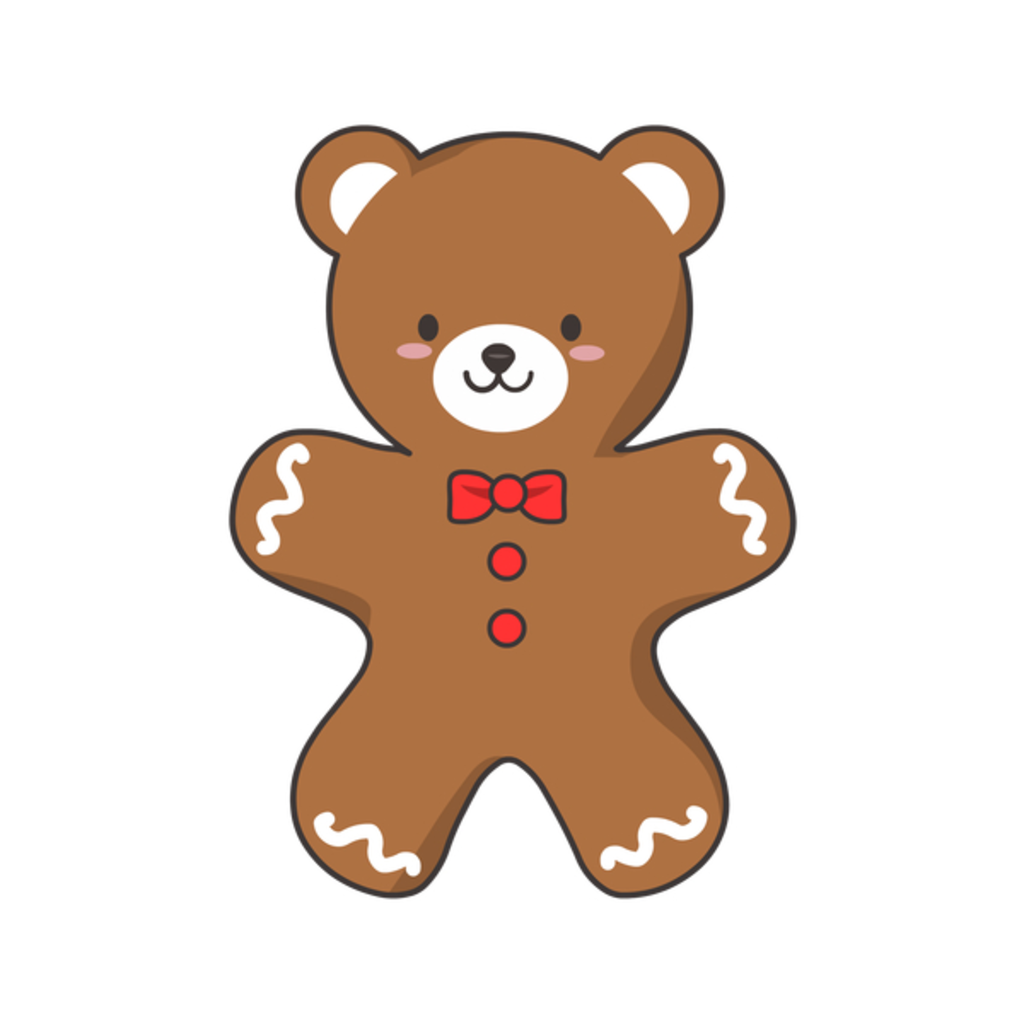 NeatoShop: Ginger-BEAR Cookie