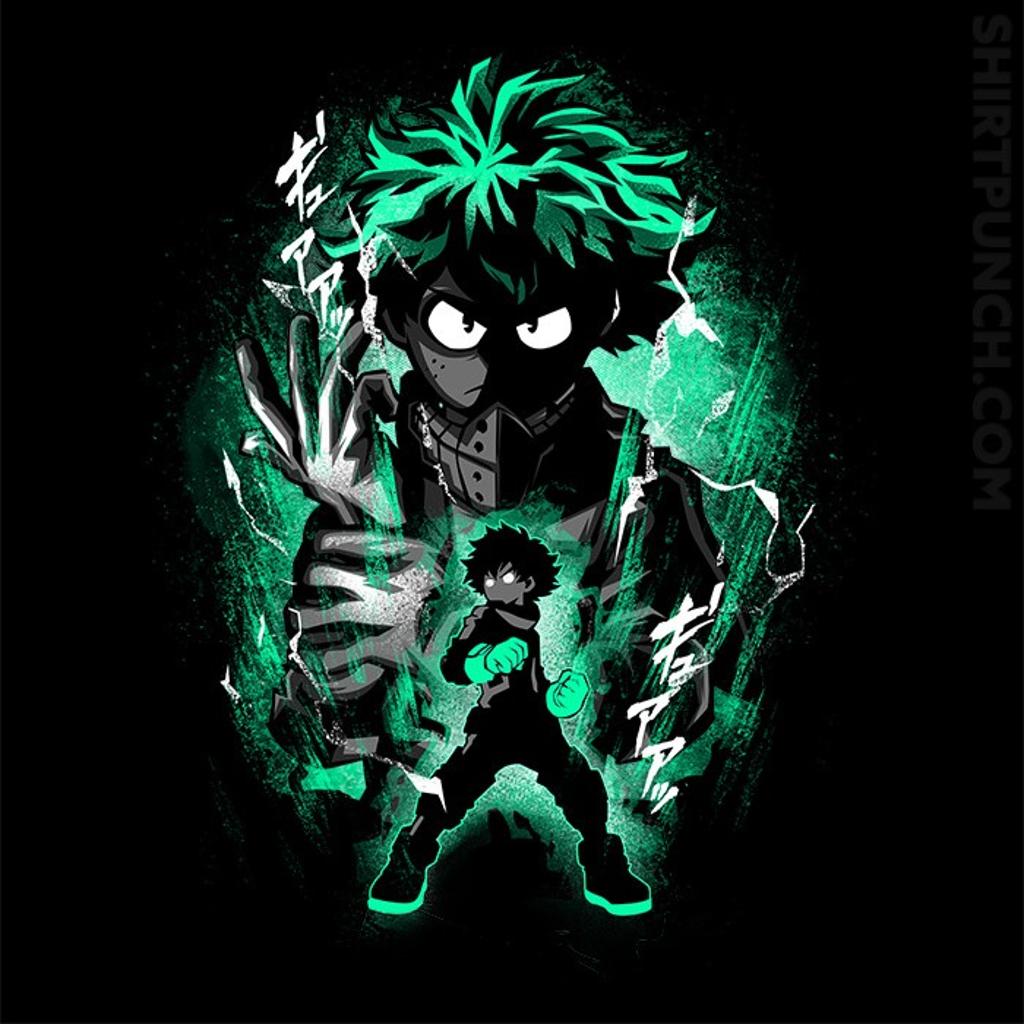ShirtPunch: Hero Deku