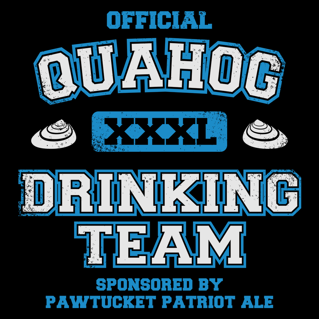 Pop-Up Tee: Quahog Drinking Team