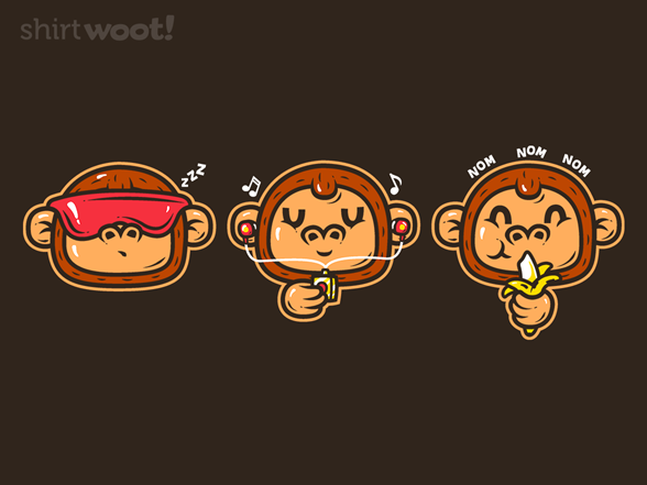 Woot!: Three Clever Monkeys